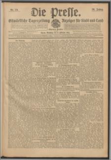 Die Presse 1912, Jg. 30, Nr. 30 Zweites Blatt, Drittes Blatt