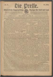 Die Presse 1912, Jg. 30, Nr. 40 Zweites Blatt, Drittes Blatt
