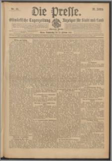 Die Presse 1912, Jg. 30, Nr. 44 Zweites Blatt, Drittes Blatt