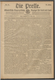 Die Presse 1912, Jg. 30, Nr. 64 Zweites Blatt, Drittes Blatt