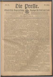 Die Presse 1912, Jg. 30, Nr. 65 Zweites Blatt, Drittes Blatt, Viertes Blatt, Fünftes Blatt