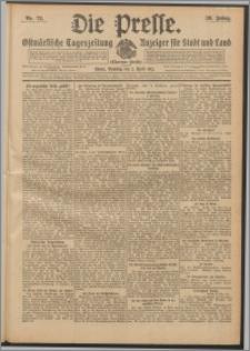 Die Presse 1912, Jg. 30, Nr. 78 Zweites Blatt, Drittes Blatt, Viertes Blatt