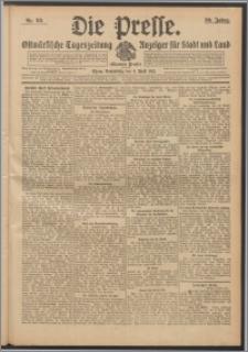 Die Presse 1912, Jg. 30, Nr. 80 Zweites Blatt, Drittes Blatt, Viertes Blatt
