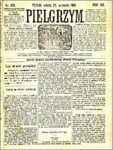 Pielgrzym, pismo religijne dla ludu 1881 nr 109