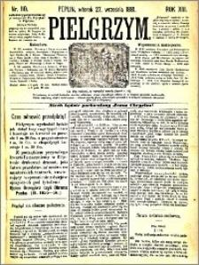 Pielgrzym, pismo religijne dla ludu 1881 nr 110