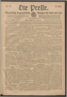Die Presse 1912, Jg. 30, Nr. 133 Zweites Blatt, Drittes Blatt, Viertes Blatt, Fünftes Blatt