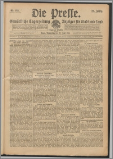 Die Presse 1912, Jg. 30, Nr. 148 Zweites Blatt, Drittes Blatt