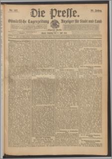 Die Presse 1912, Jg. 30, Nr. 157 Zweites Blatt, Drittes Blatt, Viertes Blatt