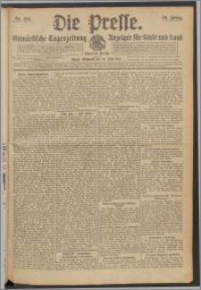 Die Presse 1912, Jg. 30, Nr. 159 Zweites Blatt, Drittes Blatt