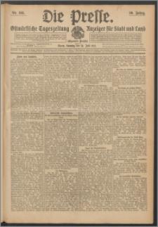 Die Presse 1912, Jg. 30, Nr. 163 Zweites Blatt, Drittes Blatt, Viertes Blatt