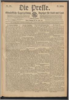 Die Presse 1912, Jg. 30, Nr. 176 Zweites Blatt, Drittes Blatt