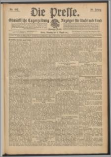 Die Presse 1912, Jg. 30, Nr. 182 Zweites Blatt, Drittes Blatt