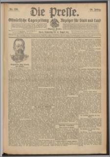 Die Presse 1912, Jg. 30, Nr. 190 Zweites Blatt, Drittes Blatt