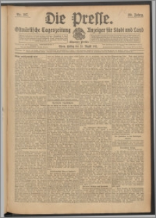Die Presse 1912, Jg. 30, Nr. 197 Zweites Blatt, Drittes Blatt