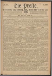 Die Presse 1912, Jg. 30, Nr. 227 Zweites Blatt, Drittes Blatt