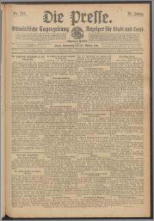Die Presse 1912, Jg. 30, Nr. 238 Zweites Blatt, Drittes Blatt