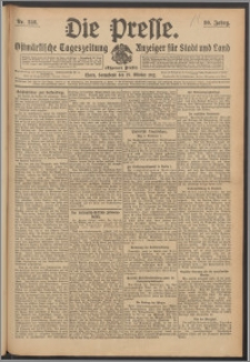 Die Presse 1912, Jg. 30, Nr. 246 Zweites Blatt, Drittes Blatt