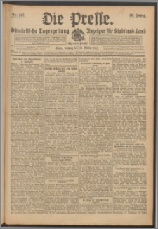 Die Presse 1912, Jg. 30, Nr. 247 Zweites Blatt, Drittes Blatt, Viertes Blatt