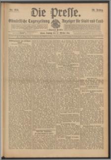 Die Presse 1912, Jg. 30, Nr. 253 Zweites Blatt, Drittes Blatt, Viertes Blatt, Fünftes Blatt