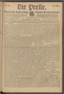 Die Presse 1912, Jg. 30, Nr. 261 Zweites Blatt, Drittes Blatt