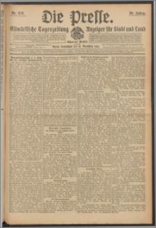 Die Presse 1912, Jg. 30, Nr. 270 Zweites Blatt, Drittes Blatt