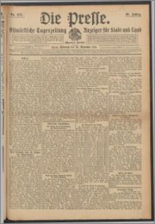 Die Presse 1912, Jg. 30, Nr. 273 Zweites Blatt, Drittes Blatt, Viertes Blatt