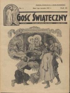 Gość Świąteczny 1935.01.06 R. XXXIX nr 1