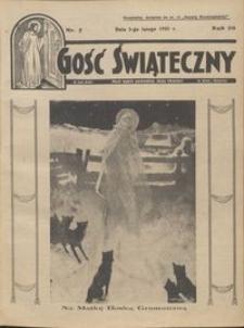 Gość Świąteczny 1935.02.03 R. XXXIX nr 5