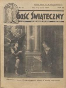 Gość Świąteczny 1935.03.24 R. XXXIX nr 12