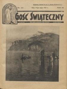 Gość Świąteczny 1935.05.19 R. XXXIX nr 20