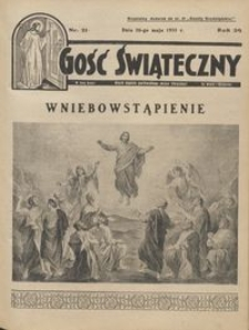 Gość Świąteczny 1935.05.26 R. XXXIX nr 21