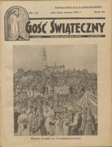 Gość Świąteczny 1935.06.23 R. XXXIX nr 25