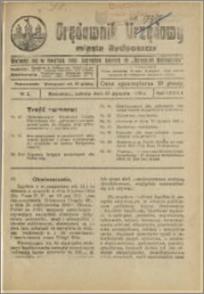 Orędownik Urzędowy Miasta Bydgoszczy, R.42, 1925, Nr 2