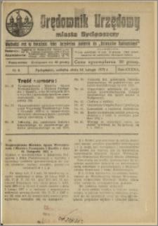Orędownik Urzędowy Miasta Bydgoszczy, R.42, 1925, Nr 4