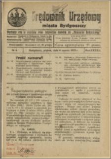 Orędownik Urzędowy Miasta Bydgoszczy, R.42, 1925, Nr 6