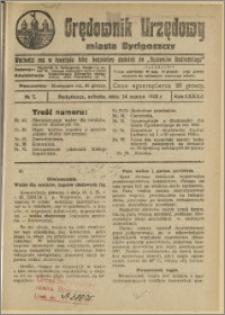Orędownik Urzędowy Miasta Bydgoszczy, R.42, 1925, Nr 7