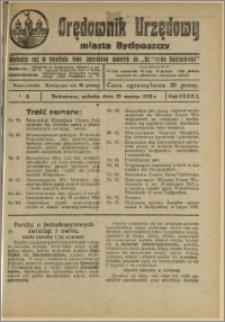 Orędownik Urzędowy Miasta Bydgoszczy, R.42, 1925, Nr 8