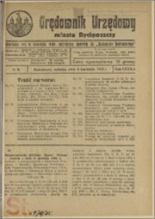 Orędownik Urzędowy Miasta Bydgoszczy, R.42, 1925, Nr 9