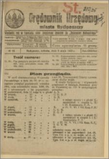 Orędownik Urzędowy Miasta Bydgoszczy, R.42, 1925, Nr 12