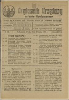 Orędownik Urzędowy Miasta Bydgoszczy, R.42, 1925, Nr 13