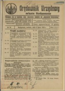 Orędownik Urzędowy Miasta Bydgoszczy, R.42, 1925, Nr 15