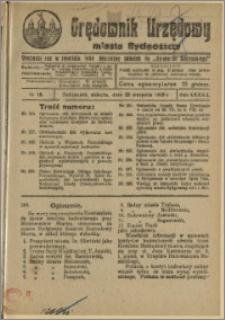 Orędownik Urzędowy Miasta Bydgoszczy, R.42, 1925, Nr 18