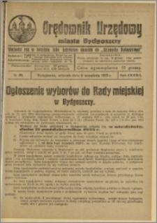 Orędownik Urzędowy Miasta Bydgoszczy, R.42, 1925, Nr 20