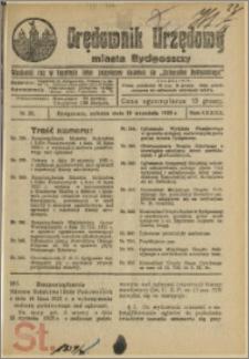 Orędownik Urzędowy Miasta Bydgoszczy, R.42, 1925, Nr 21