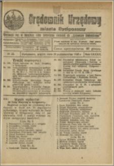 Orędownik Urzędowy Miasta Bydgoszczy, R.42, 1925, Nr 25