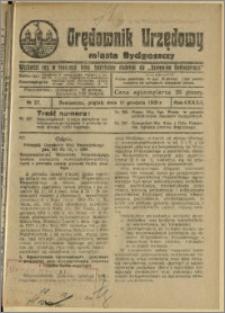 Orędownik Urzędowy Miasta Bydgoszczy, R.42, 1925, Nr 27