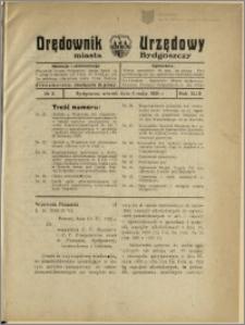 Orędownik Urzędowy Miasta Bydgoszczy, R.43, 1926, Nr 3