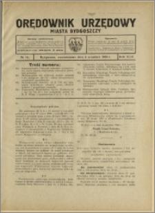 Orędownik Urzędowy Miasta Bydgoszczy, R.43, 1926, Nr 10