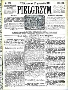 Pielgrzym, pismo religijne dla ludu 1881 nr 123