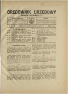 Orędownik Urzędowy Miasta Bydgoszczy, R.44, 1927, Nr 5